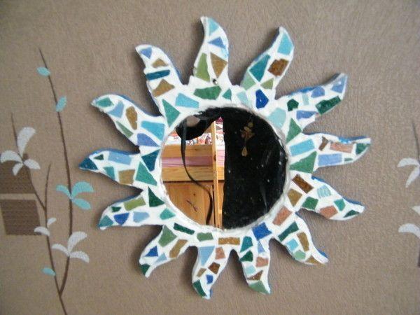 Bricolage miroir for Colle pour miroir mural