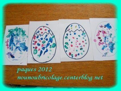 Oeufs de paques la peinture - Peinture oeufs de paques ...