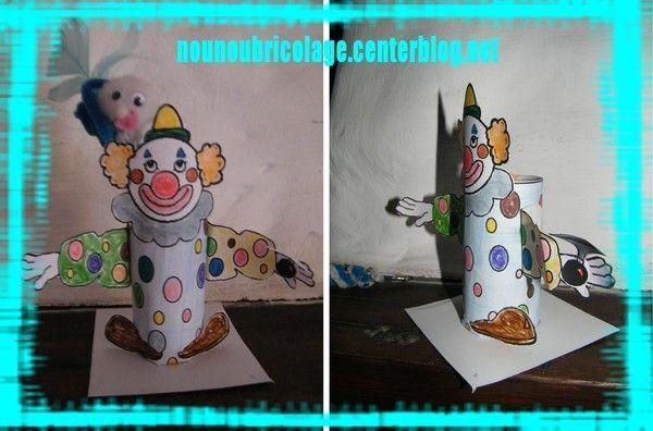 clown porte crayon