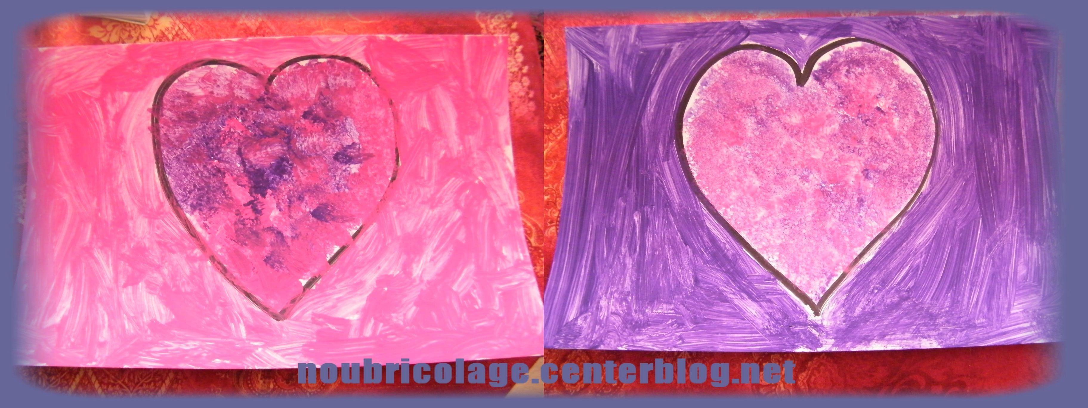St valentin for Technique de peinture murale a l eponge